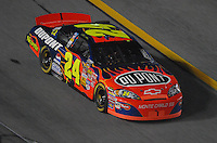 Feb 10, 2007; Daytona, FL, USA; Nascar Nextel Cup driver Jeff Gordon (24) during the Budweiser Shootout at Daytona International Speedway. Mandatory Credit: Mark J. Rebilas