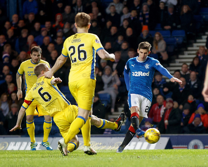 Emerson Hyndman shoots wide