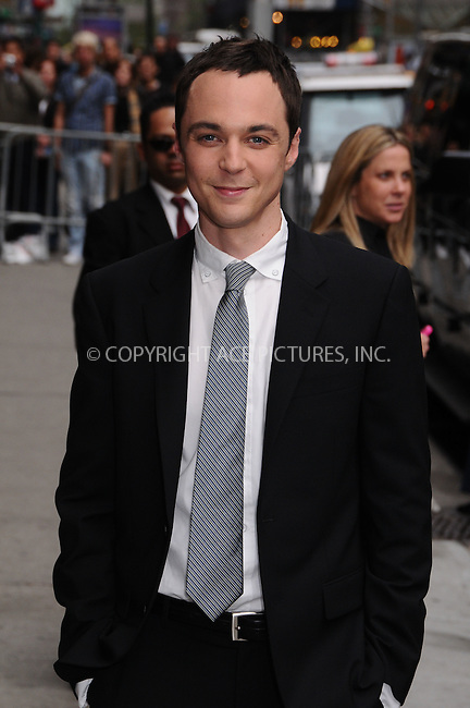 WWW.ACEPIXS.COM . . . . . ....April 22 2009, New York City....Actor Jim Parsons made an appearance at the 'Late Show With David Letterman' at the Ed Sullivan Theater on April 22, 2009 in New York City....Please byline: AJ SOKALNER- ACEPIXS.COM.. . . . . . ..Ace Pictures, Inc:  ..tel: (212) 243 8787 or (646) 769 0430..e-mail: info@acepixs.com..web: http://www.acepixs.com