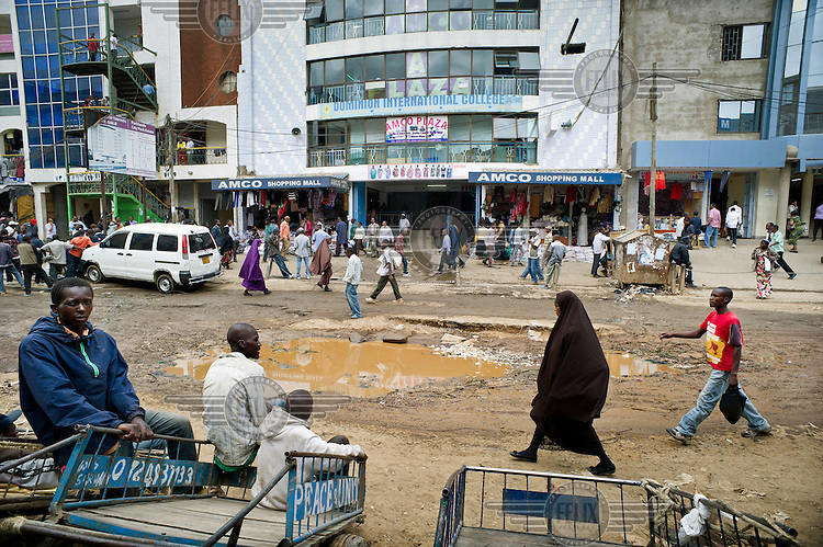 Eastleigh, a neighbourhood in Nairobi, also known as 'little Mogadishu' where most residents are from Somalia.