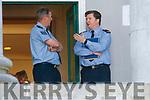 Garda Inspector John Ryan (on right)