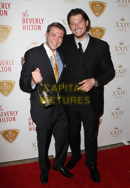 Beverly Hills, CA - October 16: Nicholas Cowherd, Kegan Klein Attending The XXIV Karat Launch Party At The Beverly Hilton At The Beverly Hilton Hotel California on October 16, 2014.  <br /> CAP/MPI/RTNUPA<br /> &copy;RTNUPA/MediaPunch/Capital Pictures
