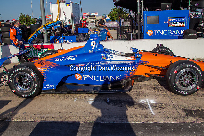 Indy Car teams getting ready before the DXC Technology 600 race at Texas Motor Speedway in Fort Worth,Texas.