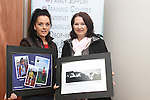 Mellisa Gallagher and Theresa Murphy with their photographs at the Connect Family Resource Centre Open Day...(Photo credit should read Jenny Matthews www.newsfile.ie)....This Picture has been sent you under the condtions enclosed by:.Newsfile Ltd..The Studio,.Millmount Abbey,.Drogheda,.Co Meath..Ireland..Tel: +353(0)41-9871240.Fax: +353(0)41-9871260.GSM: +353(0)86-2500958.email: pictures@newsfile.ie.www.newsfile.ie.