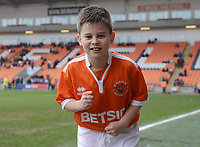 Blackpool mascot before the match<br /> <br /> Photographer Kevin Barnes/CameraSport<br /> <br /> The EFL Sky Bet League One - Blackpool v Oxford United - Saturday 23rd February 2019 - Bloomfield Road - Blackpool<br /> <br /> World Copyright © 2019 CameraSport. All rights reserved. 43 Linden Ave. Countesthorpe. Leicester. England. LE8 5PG - Tel: +44 (0) 116 277 4147 - admin@camerasport.com - www.camerasport.com
