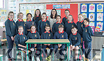 Elaine Joy pictured here with her 5th and 6th class pupils on her final day as principle of CillÌn †Liath †N.S.  Elaine has spent 17 years teaching at the Gael Scoil, holding the position of principle since 2015 and is now moving on to take up her new roll as principle at Cromane N.S.† The local Dromid community expressed their deep appreciation to Elaine for her dedication to Scoil †CillÌn Liath †at a farewell party held in the school last week and wished her every success in her new position.†