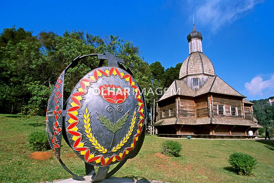 Memorial Ucraniano no Parque Tingui em Curitiba, Paraná. 2001. Foto de Juca Martins.