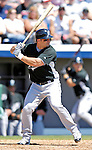 18 March 2007: Florida Marlins infielder Dan Uggla in action against the Washington Nationals at Space Coast Stadium in Viera, Florida...Mandatory Photo Credit: Ed Wolfstein Photo