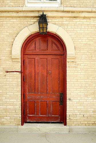 St. Peter Luthern Church in Schaumburg, Red Door