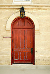 St. Peter Luthern Church in Schaumburg, Red Door