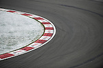 Car's tracks are pictured in a chicane during the F1 Grand Prix du Canada at the Circuit Gilles-Villeneuve on June 08, 2012 in Montreal, Canada. Photo by Victor Fraile / The Power of Sport Images