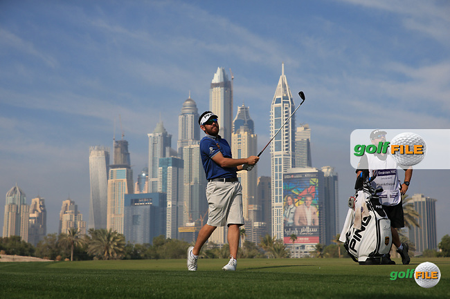 Louis Oosthuizen (RSA) during the Pro-Am at the 2016 Omega Dubai Desert Classic, played on the Emirates Golf Club, Dubai, United Arab Emirates.  03/02/2016. Picture: Golffile | David Lloyd<br /> <br /> All photos usage must carry mandatory copyright credit (&copy; Golffile | David Lloyd)