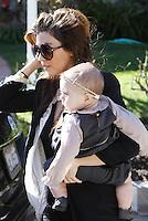 Kourtney Kardashian and daughter Penelope visit Friends In Beverly Hills - Los Angeles
