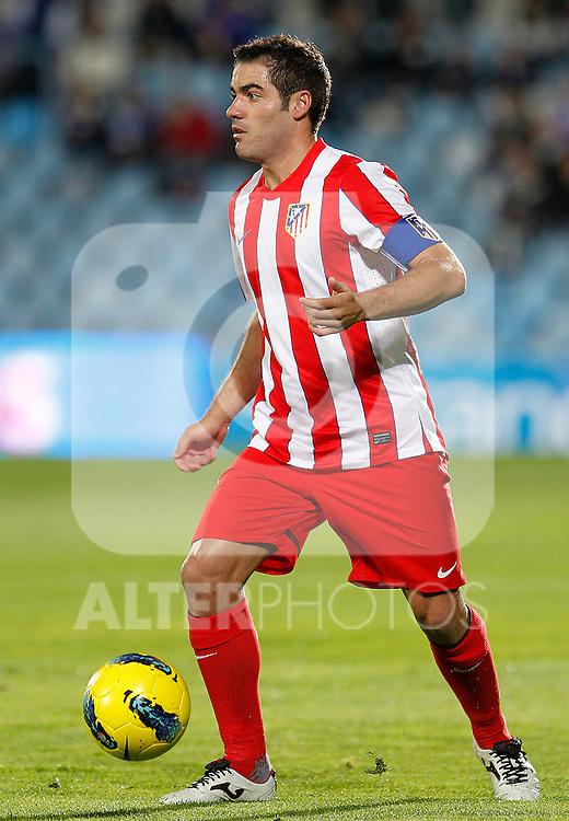 Atletico de Madrid's Antonio Lopez during La Liga match.November 6,2011. (ALTERPHOTOS/Acero)