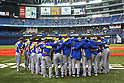 Brazil National Team Group (BRA), .February 26, 2013 - WBC : .2013 World Baseball Classic, Exhibithion Game .match between Brazil 2-6 ORIX Buffaloes .at Kyocera Dome, Osaka, Japan..(Photo by AJPS/AFLO SPORT)