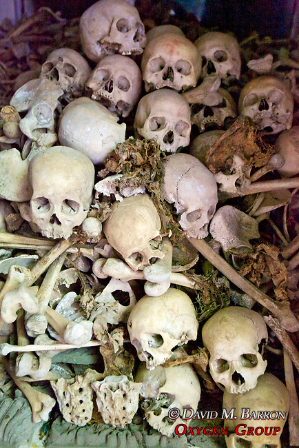 Skulls From Pol Pot Regime Killings