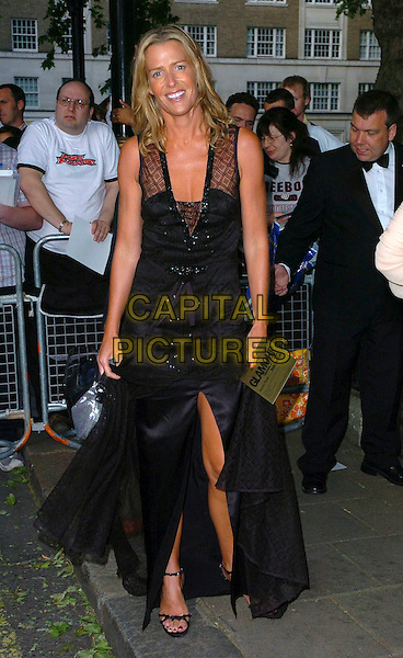 INDIA HICKS.Glamour magazine's 3rd Annual Woman of the Year Awards Berkeley Square Gardens - Arrivals, London, UK. .June 6th, 2006 .Ref: CAN.full length black dress.www.capitalpictures.com.sales@capitalpictures.com.©Capital Pictures