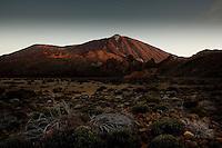 Early morning Mount Teide.Parque nacional de las Cañadas,Tenerife, Gran Canaria, Spain