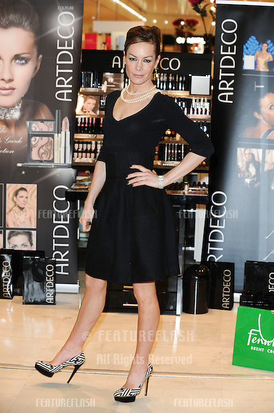 Tara Palmer Tomkinson launches the new Artdeco make up stand at Fenwick, Brent Cross, London. 30/04/2010  Picture by: Steve Vas / Featureflash