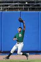 Dartmouth Big Green outfielder Ennis Coble #5 during a game vs. the Northwestern Wildcats at Chain of Lakes Park in Winter Haven, Florida;  March 20, 2011.  Northwestern defeated Dartmouth 3-2.  Photo By Mike Janes/Four Seam Images