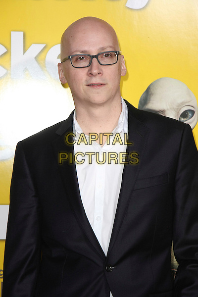 "GREG MOTTOLA.""Paul"" Los Angeles Premiere held at The Grauman's Chinese Theatre, Los Angeles, California, USA..March 14th, 2011.half length black jacket white shirt glasses .CAP/ADM/TB.©Tommaso Boddi/AdMedia/Capital Pictures."