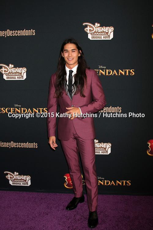 "LOS ANGELES - JUL 24:  BooBoo Stewart at the ""Descendants"" Premiere Screening at the Walt Disney Studios on July 24, 2015 in Burbank, CA"