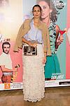 """Lola Marceli attends the Premiere of the Theater Play """"Al Final de la carretera"""" at Fenan Gomez Theatre in Madrid, Spain. October 7, 2014. (ALTERPHOTOS/Carlos Dafonte)"""