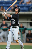 August 9 2009: Nick Noonan of the San Jose Giants during game against the Rancho Cucamonga Quakes at The Epicenter in Rancho Cucamonga,CA.  Photo by Larry Goren/Four Seam Images