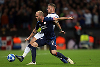 Toby Alderweireld of Tottenham Hotspur and Jorrit Hendrix of PSV Eindhoven during Tottenham Hotspur vs PSV Eindhoven, UEFA Champions League Football at Wembley Stadium on 6th November 2018