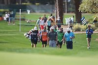 Graeme Mc Dowell  (NIR), Patrick Reed (USA) and Hunter Mahan (USA) during round 1 of the Valspar Championship, at the  Innisbrook Resort, Palm Harbor,  Florida, USA. 10/03/2016.<br /> Picture: Golffile | Mark Davison<br /> <br /> <br /> All photo usage must carry mandatory copyright credit (© Golffile | Mark Davison)