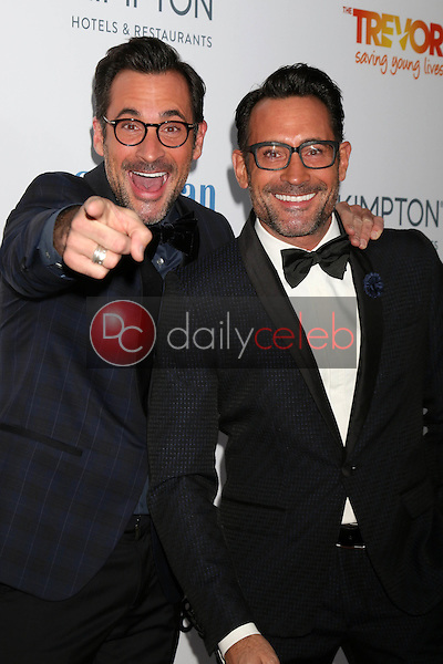 Lawrence Zarian, Gregory Zarian<br /> at the TrevorLIVE Los Angeles 2016, Beverly Hilton Hotel, Beverly Hills, CA 12-04-16<br /> David Edwards/DailyCeleb.com 818-249-4998