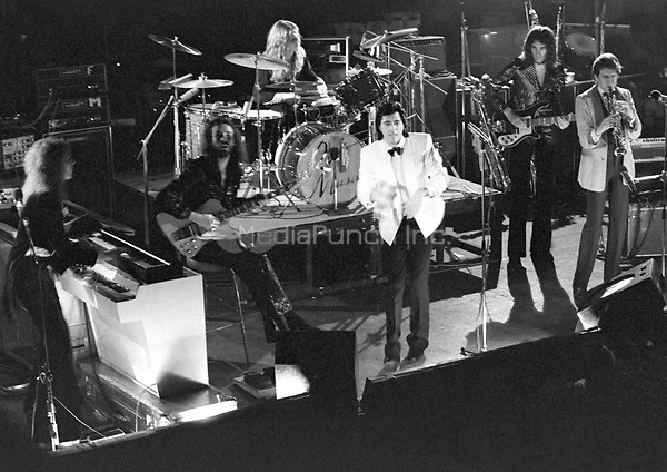 Roxy Music pictured in 1973.  Credit: Ian Dickson/MediaPunch
