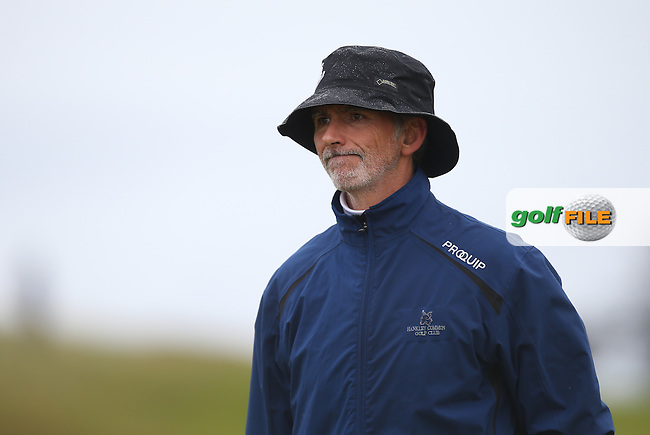 F1 legend Damon Hill during R3 at Kingsbarns of the 2014 Alfred Dunhill Links Championship, The Old Course, St Andrews, Fife, Scotland. Picture:  David Lloyd / www.golffile.ie