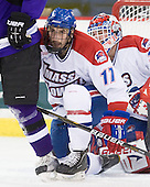 Matt Ferreira (Lowell - 17) - The visiting Minnesota State University-Mankato Mavericks defeated the University of Massachusetts-Lowell River Hawks 3-2 on Saturday, November 27, 2010, at Tsongas Arena in Lowell, Massachusetts.