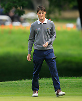 Dermot McElroy (IRL) on the 1st green during Round 1 of the Bridgestone Challenge 2017 at the Luton Hoo Hotel Golf &amp; Spa, Luton, Bedfordshire, England. 07/09/2017<br /> Picture: Golffile   Thos Caffrey<br /> <br /> <br /> All photo usage must carry mandatory copyright credit     (&copy; Golffile   Thos Caffrey)
