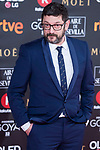 Manolo Solo attends red carpet of Goya Cinema Awards 2018 at Madrid Marriott Auditorium in Madrid , Spain. February 03, 2018. (ALTERPHOTOS/Borja B.Hojas)