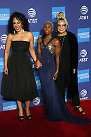 2 January 2020 - Palm Springs, California - Debra Martin Chase, Cynthia Erivo, Kasi Lemmons. 2020 Annual Palm Springs International Film Festival Film Awards Gala  held at Palm Springs Convention Center. Photo Credit: FS/AdMedia