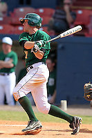 Dartmouth Big Green outfielder Jake Carlson #11 during a game vs. the Northwestern Wildcats at Chain of Lakes Park in Winter Haven, Florida;  March 20, 2011.  Northwestern defeated Dartmouth 3-2.  Photo By Mike Janes/Four Seam Images