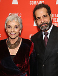 """Brooke Adams and Tony Shalhoub attends the Atlantic Theater Company """"Divas' Choice"""" Gala at the Plaza Hotel on March 4, 2019 in New York City."""