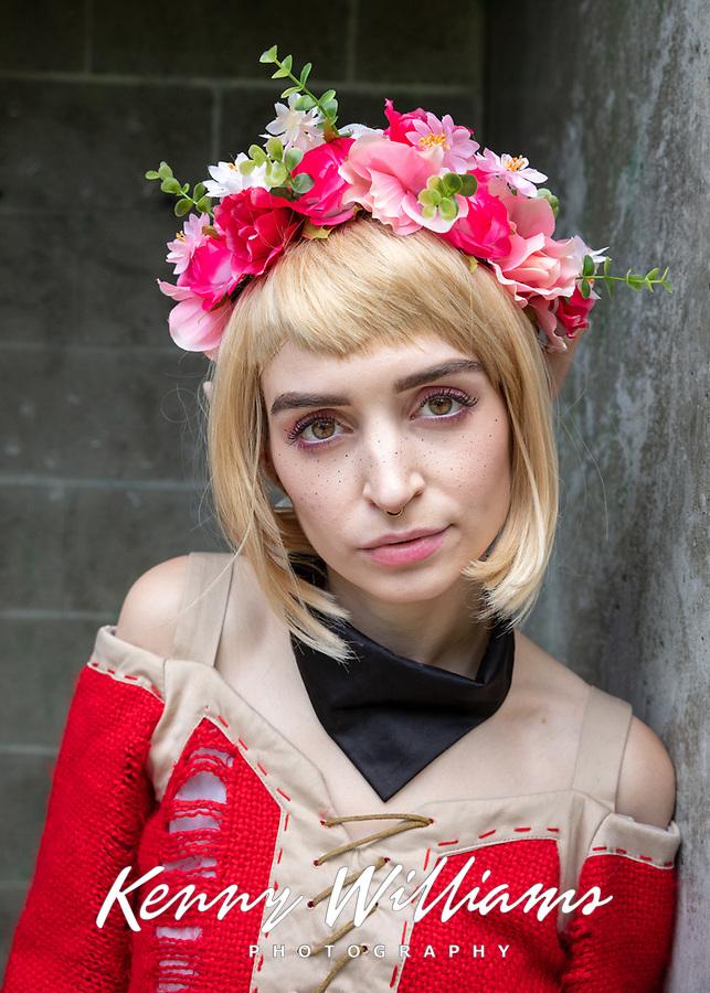 Portrait of Beautiful Girl, Pax West Seattle, WA, USA.