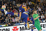 League LNFS 2017/2018 - Game 10.<br /> FC Barcelona Lassa vs CA Osasuna Magna: 3-3.<br /> Esquerdinha.