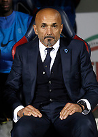 Calcio, Serie A: Bologna, stadio Renato Dall'Ara, 19 settembre 2017.<br /> Inter Milan's coach Luciano Spalletti waits for the start of the Italian Serie A football match between Bologna and Inter Milan at Bologna's Renato Dall'Ara stadium, September 19, 2017.<br /> UPDATE IMAGES PRESS/Isabella Bonotto