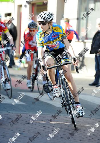2012-03-11 / Wielrennen / seizoen 2012 / GIELEN Siebe, Geel..Foto: Mpics.be