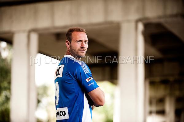 Belgian football player Laurent Depoitre (Belgium, 25/09/2014)