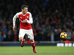 Arsenal's Mesut Ozil in action during the Premier League match at the Emirates Stadium, London. Picture date October 26th, 2016 Pic David Klein/Sportimage
