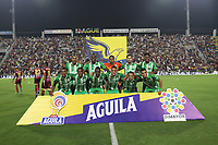IBAGUÉ - COLOMBIA, 13-11-2019: Jugadores del Atlético Nacional   posan para una foto previo al partido por los cuadrangulares semifinales de la Liga Águila II 2019 entre Deportes Tolima Y Atlético Nacional  jugado en el estadio Manuel Murillo Toro de la ciudad de bagué. / Players of Atletico Nacional  pose to a photo prior match for the quadrangular semifinals as part of Aguila League II 2019 between Deportes Tolima and Atletico Nacional  played at Manuel Murillo Toro stadium in Ibague city. Photo: VizzorImage / Felipe Caicedo / Satff