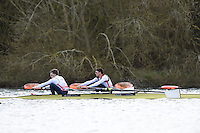 Caversham. Berkshire. UK<br /> GBR LM2-. Bow Sam SCRIMGEOUR and Joel CASSELLS<br /> 2016 GBRowing European Team Announcement,  <br /> <br /> Wednesday  06/04/2016 <br /> <br /> [Mandatory Credit; Peter SPURRIER/Intersport-images]