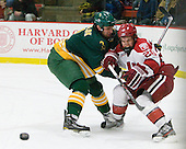 Nik Pokulok (Clarkson - 2), Luke Greiner (Harvard - 26) - The Harvard University Crimson defeated the visiting Clarkson University Golden Knights 3-2 on Harvard's senior night on Saturday, February 25, 2012, at Bright Hockey Center in Cambridge, Massachusetts.