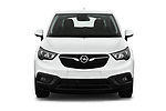 Car photography straight front view of a 2019 Opel Crossland-X Edition 5 Door SUV Front View