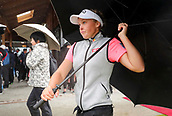 1st October 2017, Windross Farm, Auckland, New Zealand; LPGA McKayson NZ Womens Open, final round;  Canada's Brooke Henderson comes in after play is suspended